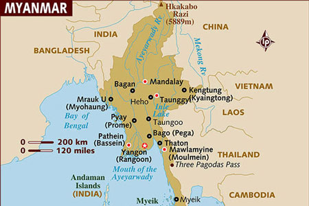 In The Past It Was Only Daring And Adventurous That Visited Myanmar Now As Becomes Easier More People Are Making Journey